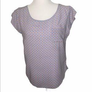Kenar Scoop neck short sleeve shirt